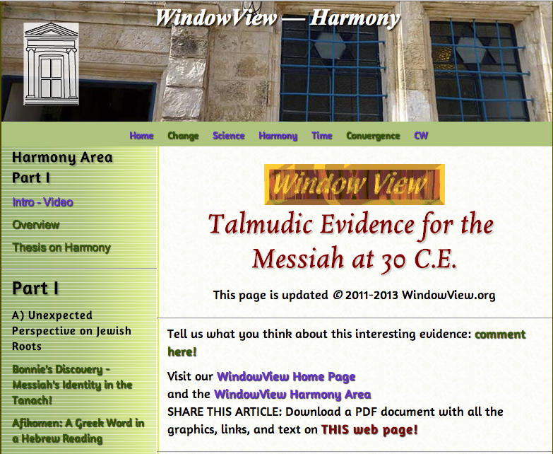 The Talmud Describes  Wonderful Events